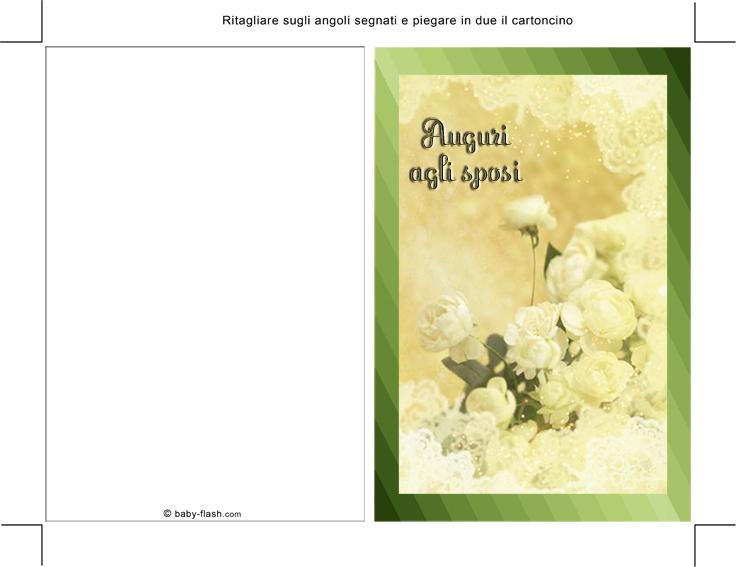 Connu Biglietti per Matrimonio e Anniversario - Baby-flash VG77