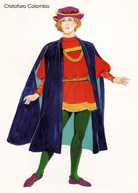 Cristoforo Colombo Disegno - Disegni da colorare gratuiti