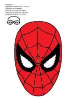 Maschere da stampare for Maschera di flash da colorare