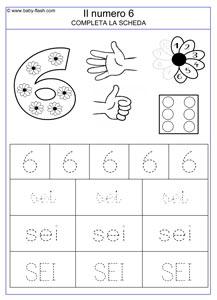 Esercizi Per Bambini Di 5 Anni Da Stampare