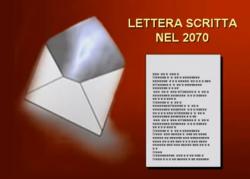 LETTERA SCRITTANEL 2070