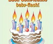 Auguri baby-flash!