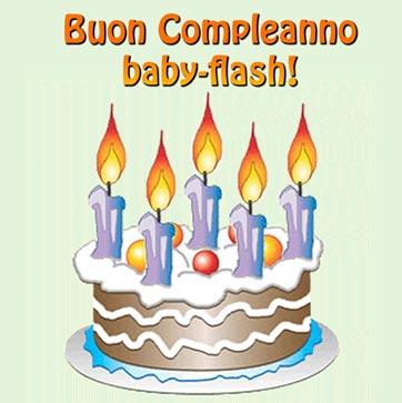 Auguri baby-flash! - Baby-flash