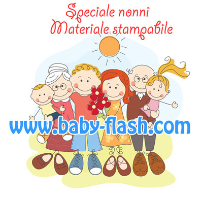 Preferenza Materiale per la festa dei nonni - Baby-flash RX78