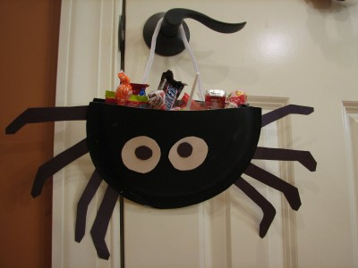 paper plate spiders 007