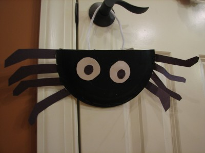 paper plate spiders 009
