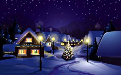 winter-night
