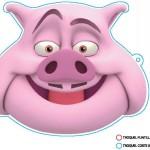 Careta Cerdo color