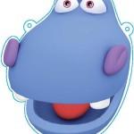 Careta Hipopotamo color