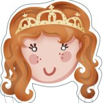 Careta Princesa color