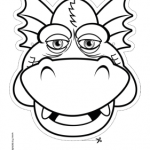 Dragon_Grinning_Outline_Mask