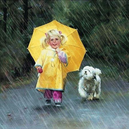 L'ombrello giallo - Baby-flash