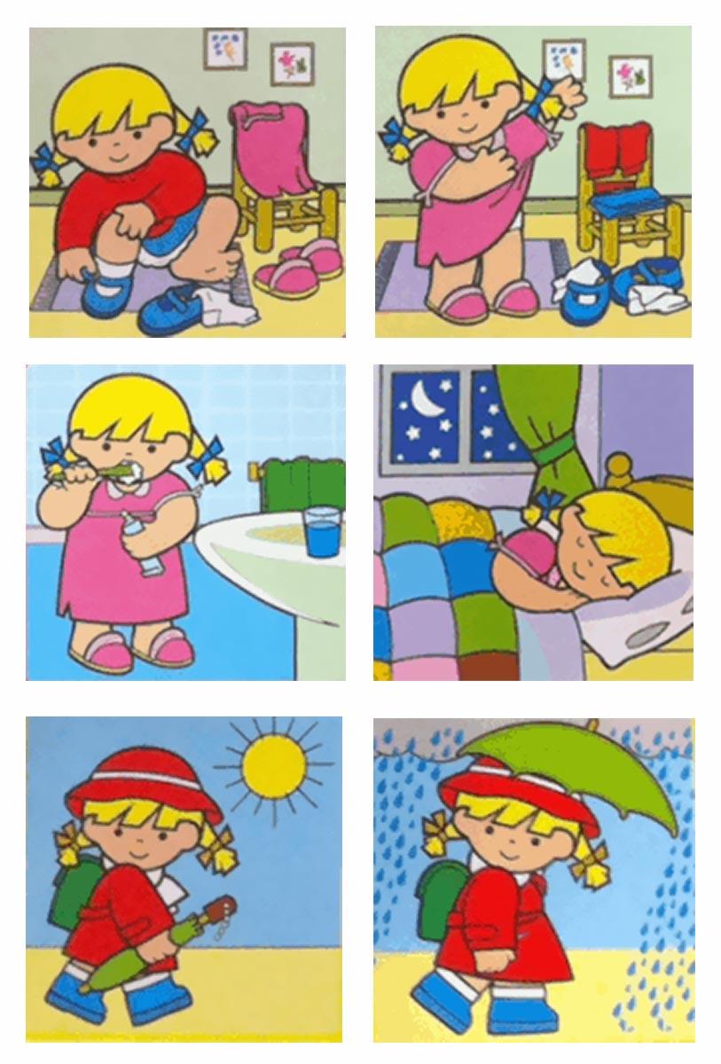 Sequenze di azioni quotidiane baby flash - Metodi per andare in bagno ...