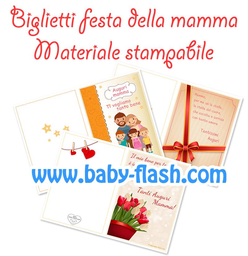 Favorito Biglietti di auguri per la festa della mamma - Baby-flash IQ38