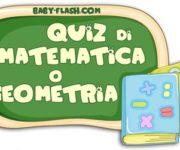 Quiz di matematica 9