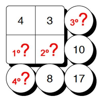 Quiz di matematica 1 - Baby-flash