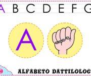 Impara l'alfabeto dattilologico, o alfabeto manuale