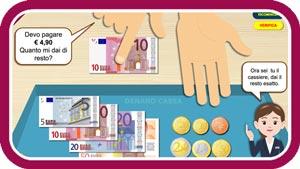 Esercizi per imparare ad usare gli euro - Baby-flash
