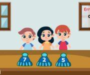 Imparare la sequenza dei numeri dall'1 al 10